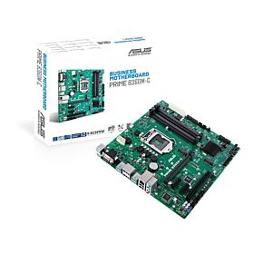 Asus Prime B360M-C Micro ATX Business Motherboard | 90MB0W80-M0EAYM
