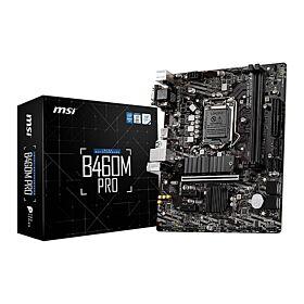 MSI Intel B460M Pro LGA 1200 Micro ATX Motherboard | 911-7C88-001