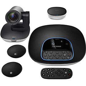 Logitech GROUP Video Conferencing Webcam System - Black | 960-001057