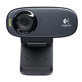 Logitech C310 High-Defination Video Calls Webcam - Black   960-001065