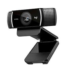 Logitech C922 1920 x 1080 pixels USB webcam - Black   960-001088