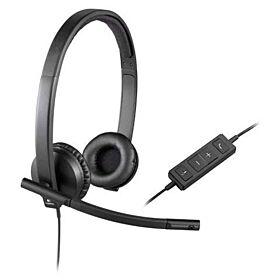 Logitech H570e USB Stereo Headset | 981-000575