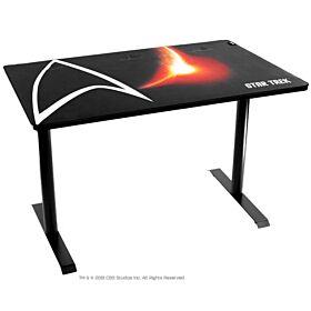 Arozzi Arena Leggero Gaming Desk - Star Trek Edition - Black   ARENA-LEGG-ST-BK