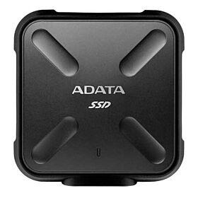 ADATA SD700 3D NAND 1TB Ruggedized External Solid State Drive - Black | ASD700-1TU3-CBK