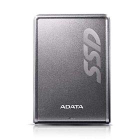 ADATA SV620H 256GB USB 3.0 External Solid State Drive - Gray | ASV620H-256GU3-CTI