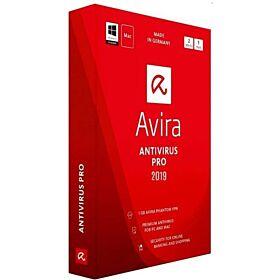 Avira Antivirus Pro 2019 for PC and Mac 2 Device For 1 Year license