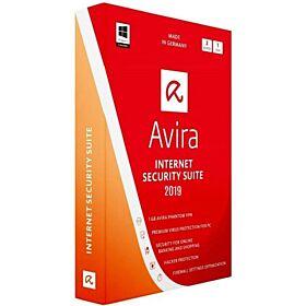Avira Internet Security Suite 2019 AV Pro + FWM 2 Device For 1 Year