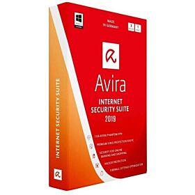 Avira Internet Security Suite 2019 AV Pro + FWM 3 Device For 1 Year