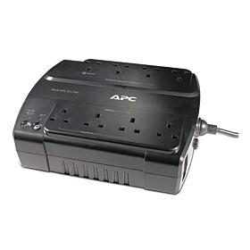 APC Power-Saving Back-UPS ES 8 Outlet 700VA 230V BS 1363 - Black | BE700G-UK