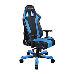 DXRacer King Series Black and Blue Gaming Chair Black / Blue   OH/KS06/NB