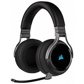 Corsair Virtuoso RGB Wireless High-Fidelity 7.1 Surround Sound Gaming Headset - Carbon | CA-9011185-NA