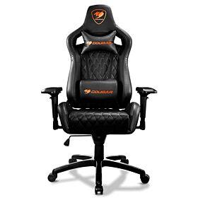 Cougar Armor S Gaming Chair - Black | CG-CHAIR-ARMOR S-CHRCL