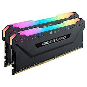 Corsair Vengeance RGB Pro 64GB (2 x 32) DDR4 3200 MHz (PC4 25600) Intel XMP 2.0 Desktop Memory | CMW64GX4M2E3200C16