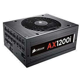 Corsair AX1200i 1200 Watts 80 Plus Platinum Full Modular Power Supply | CP-9020008-UK