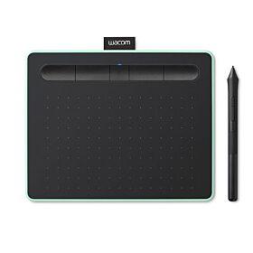 Wacom Intuos S 2540 lpi USB/Bluetooth Graphic Tablet - Black / Green | CTL-4100WLE-N