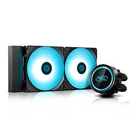 DeepCool Gammaxx L240 v2 RGB LED Liquid CPU Cooler   DP-H12RF-GL240V2