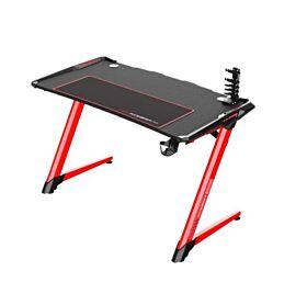 DXRacer E-Sports Gaming Desk - Black/Red