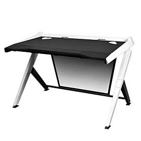 DXRacer Gaming Ergonomic Comfortable Desk - Black / White | GD/1000/NW
