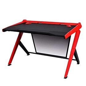 DXRacer Gaming Ergonomic Comfortable Desk - Black / Red | GD/1000/NR