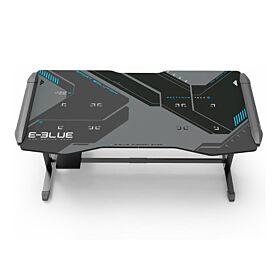 E-Blue Glacier XXL Ice Blue Glowing Light Gaming Table | EGT576BKAA-IA
