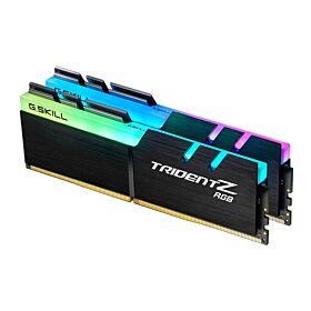 G.Skill Trident Z RGB DDR4-4000MHz CL19-19-19-39 1.35V 32GB (2x16GB) Desktop Memory - Black   F4-4000C19D-32GTZR