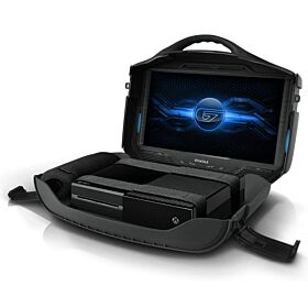 Gaems Vanguard Personal Gaming Environment for PlayStation and Xbox Consoles Not Included - Black Edition