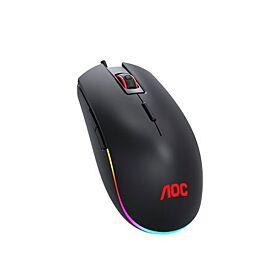 AOC GM500 RGB Gaming Mouse - Black   GM500
