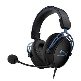 HyperX Cloud Alpha S Gaming Headset - Black / Blue   HX-HSCAS-BL/WW
