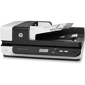 HP Scanjet Enterprise Flow 7500 Flatbed Document Scanner - White | L2725B