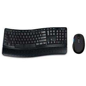 Microsoft Sculpt Comfort Desktop Keyboard And Mouse - Black | L3V-00018