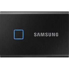 Samsung 500GB T7 Touch Portable SSD - Black | MU-PC500K/WW