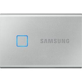 Samsung 500GB T7 Touch Portable SSD - Silver | MU-PC500S/WW