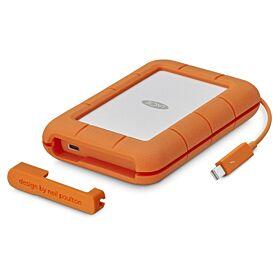 LaCie 5TB Rugged Mobile Hard Drive Thunderbolt & USB 3.0 Type-C External Hard Drive | STFS5000800