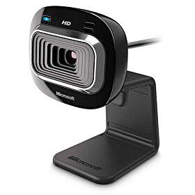Microsoft LifeCam HD-3000 Webcam - Black   T3H-00013