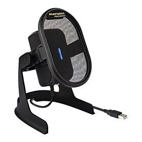 Marantz Professional Umpire Desktop USB Condenser Microphone - Black | UMPIREXEU