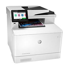 HP M479dw LaserJet Pro MFP Color Printer - White | W1A77A