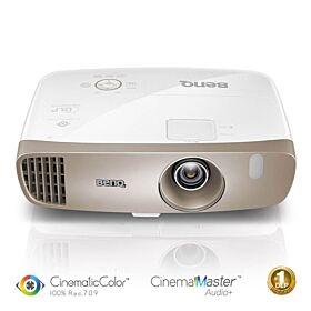 BenQ DLP 3D 2000 ANSI-Lumen Home Cinema Projector with 100% Rec.709, Audio Enhancer | W2000