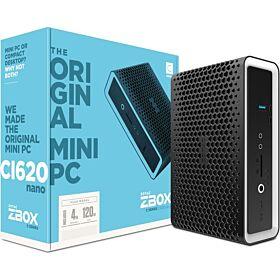 Zotac Zbox CI620 Nano Plus Mini Desktop Computer | ZBOX-CI620NANO-BE